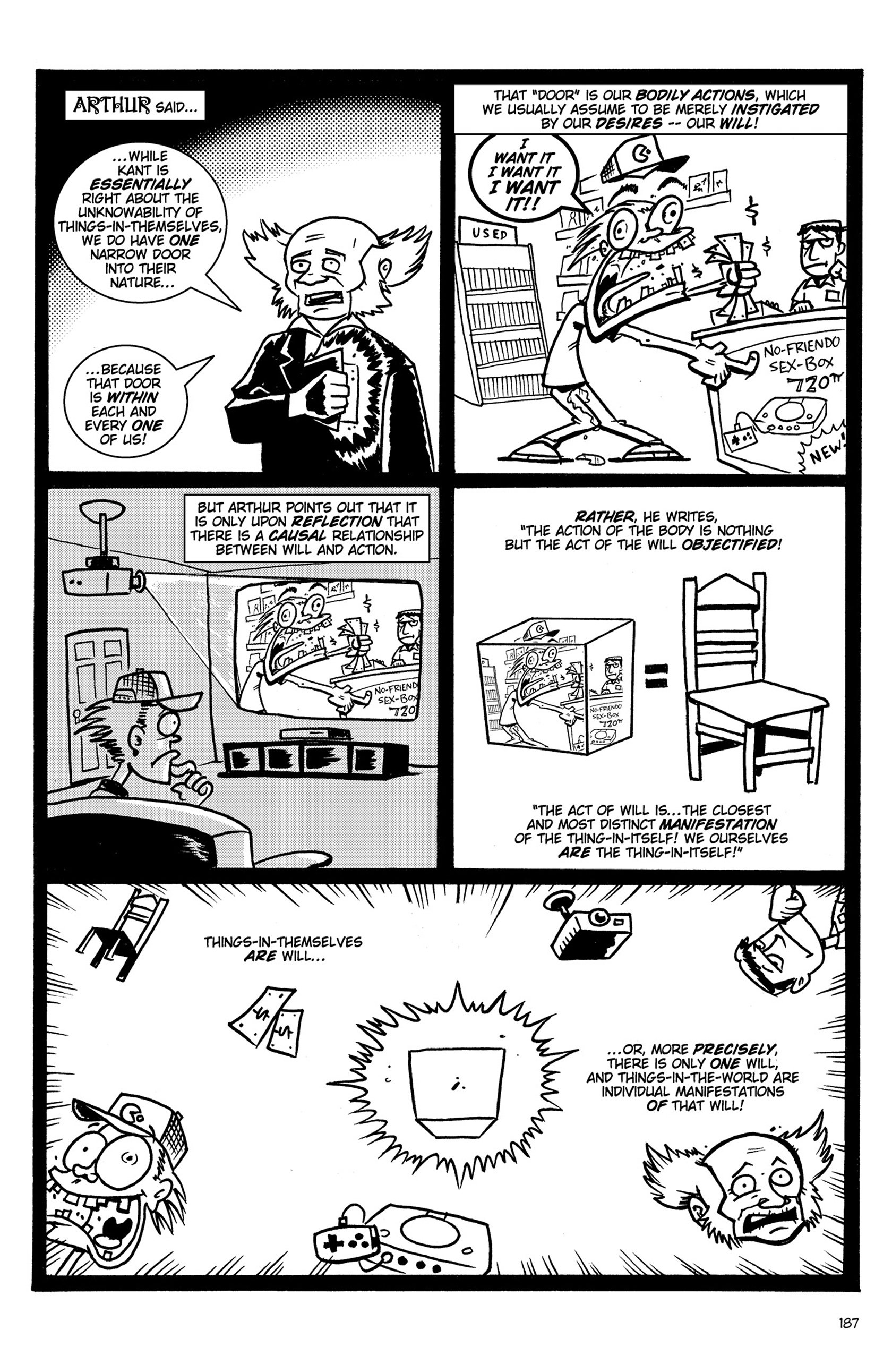 Read online Action Philosophers! comic -  Issue #Action Philosophers! TPB (Part 2) - 15