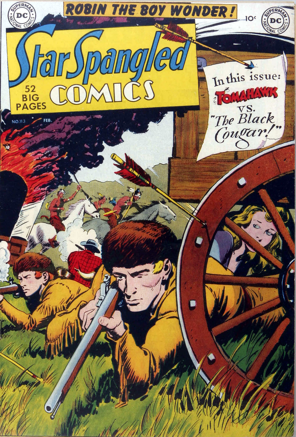 Star Spangled Comics (1941) issue 113 - Page 1
