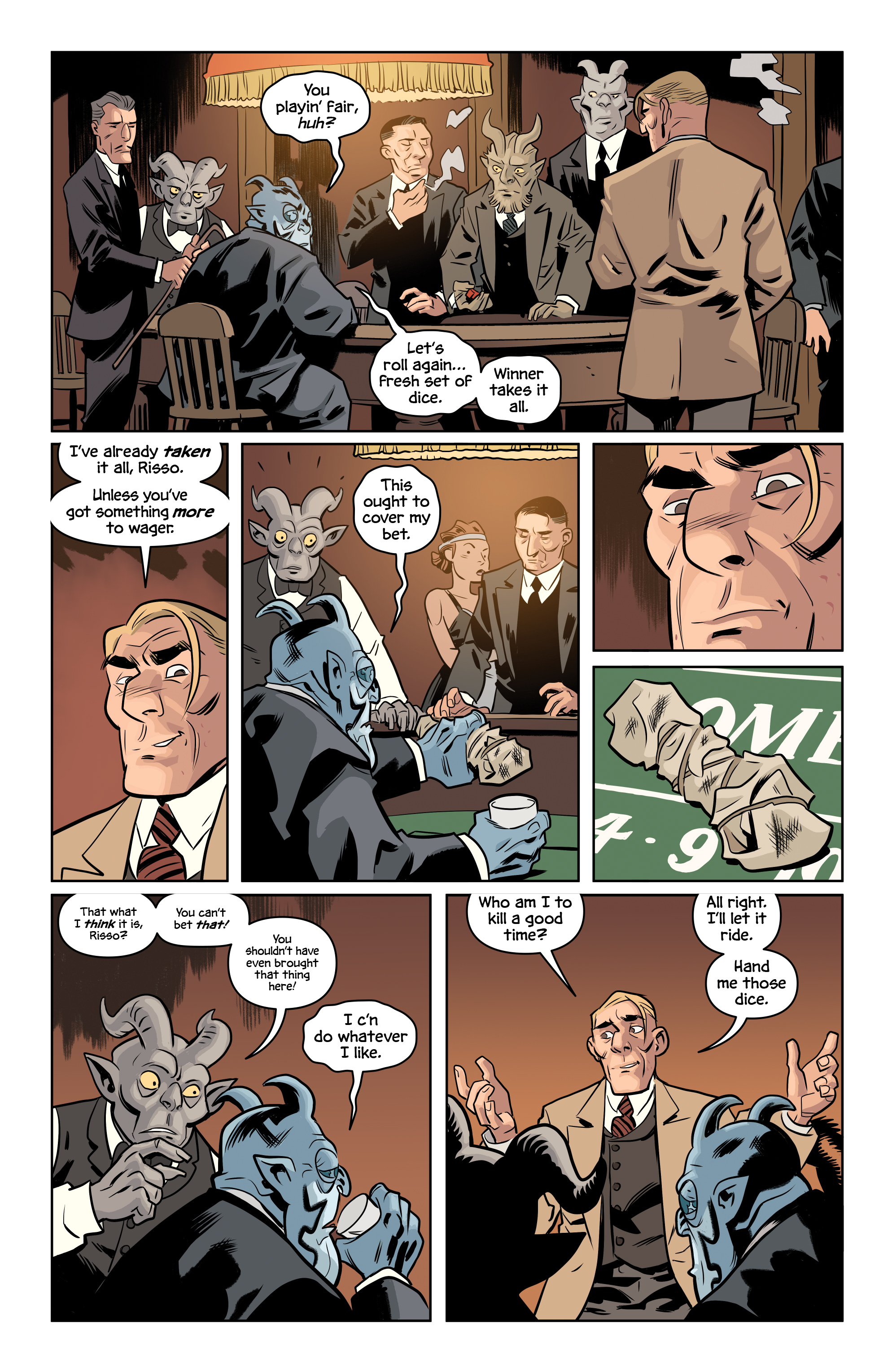 Read online The Damned comic -  Issue #2 - 5