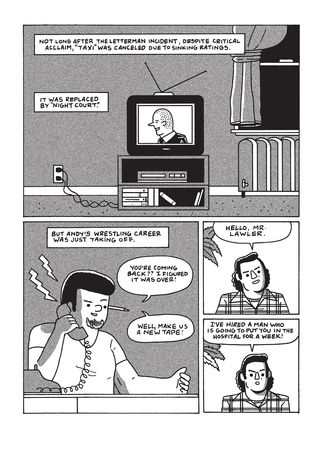 Read online Is This Guy For Real?: The Unbelievable Andy Kaufman comic -  Issue # TPB (Part 3) - 28