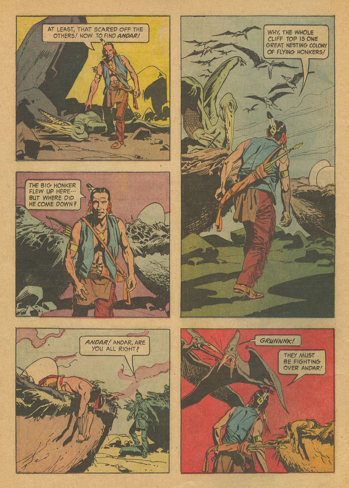 Read online Turok, Son of Stone comic -  Issue #37 - 12