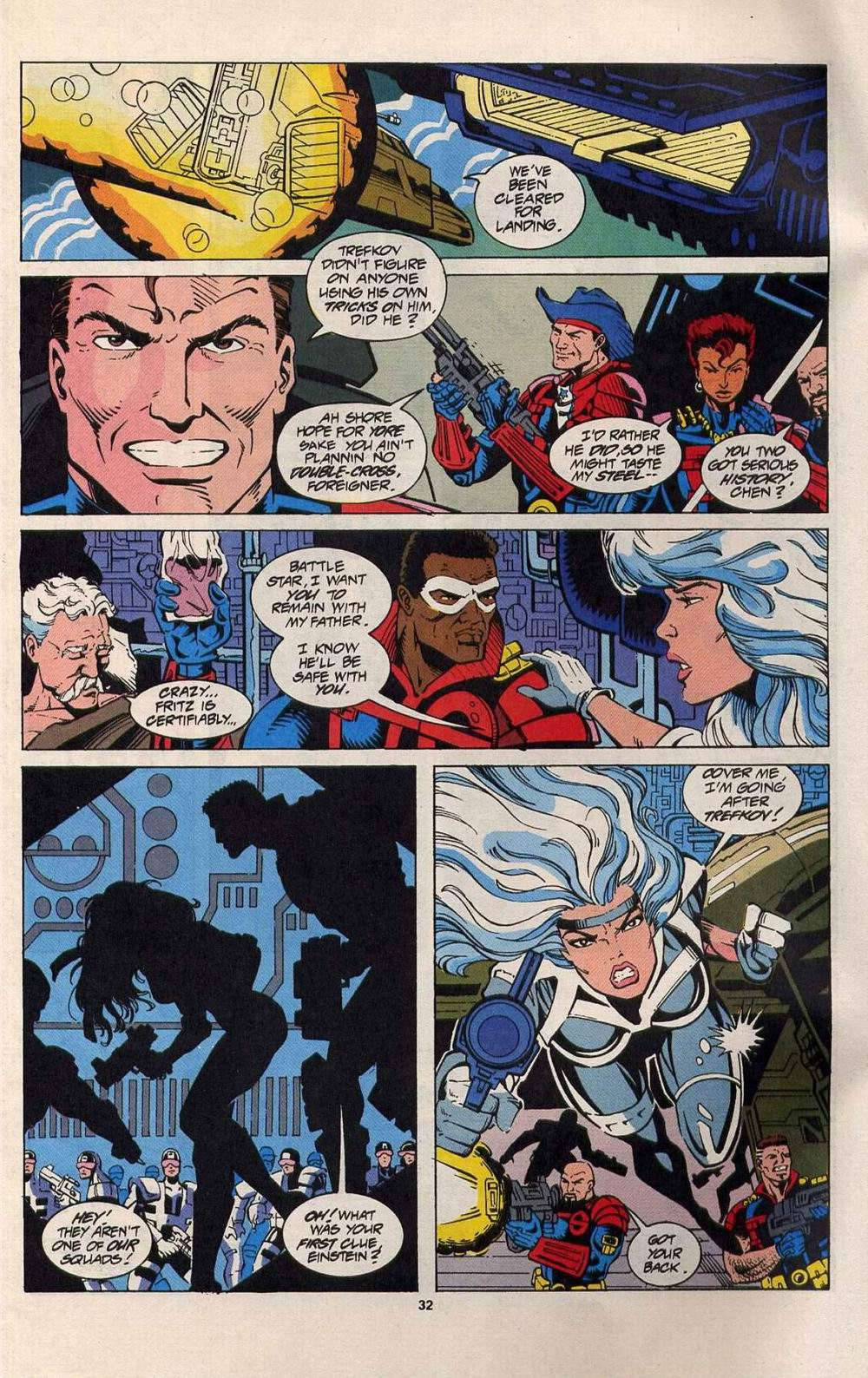 Read online Silver Sable and the Wild Pack comic -  Issue #25 - 25
