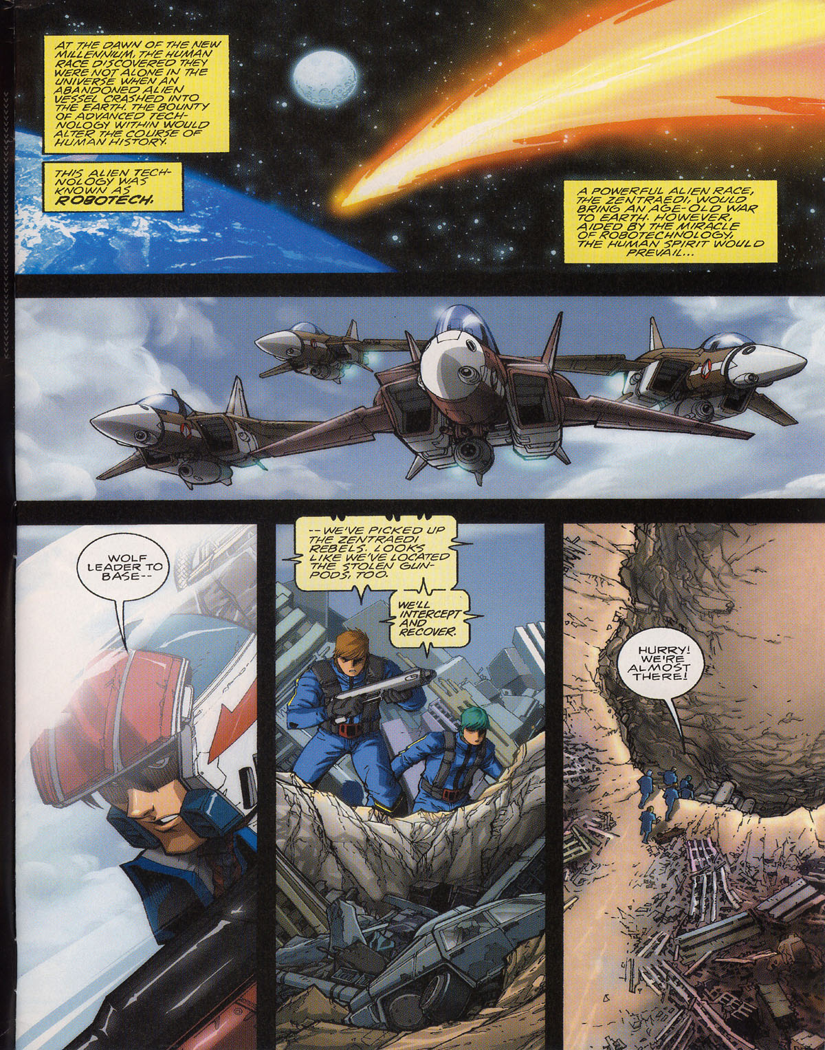 Robotech (2003) issue 0 - Page 3