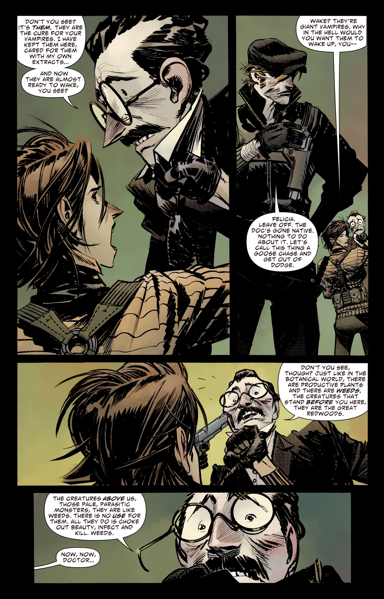 Read online American Vampire: Survival of the Fittest comic -  Issue #4 - 9