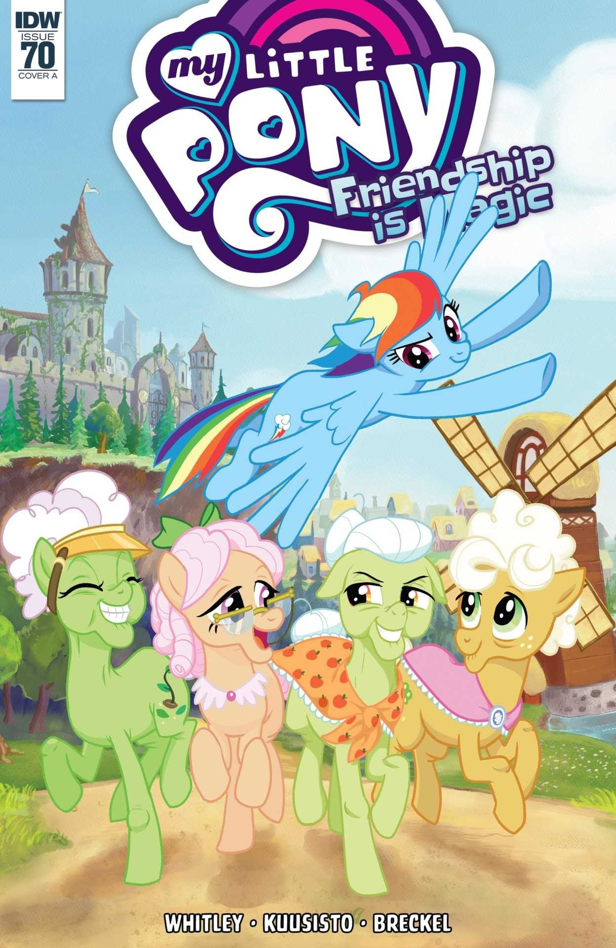 My Little Pony: Friendship is Magic issue 70 - Page 1