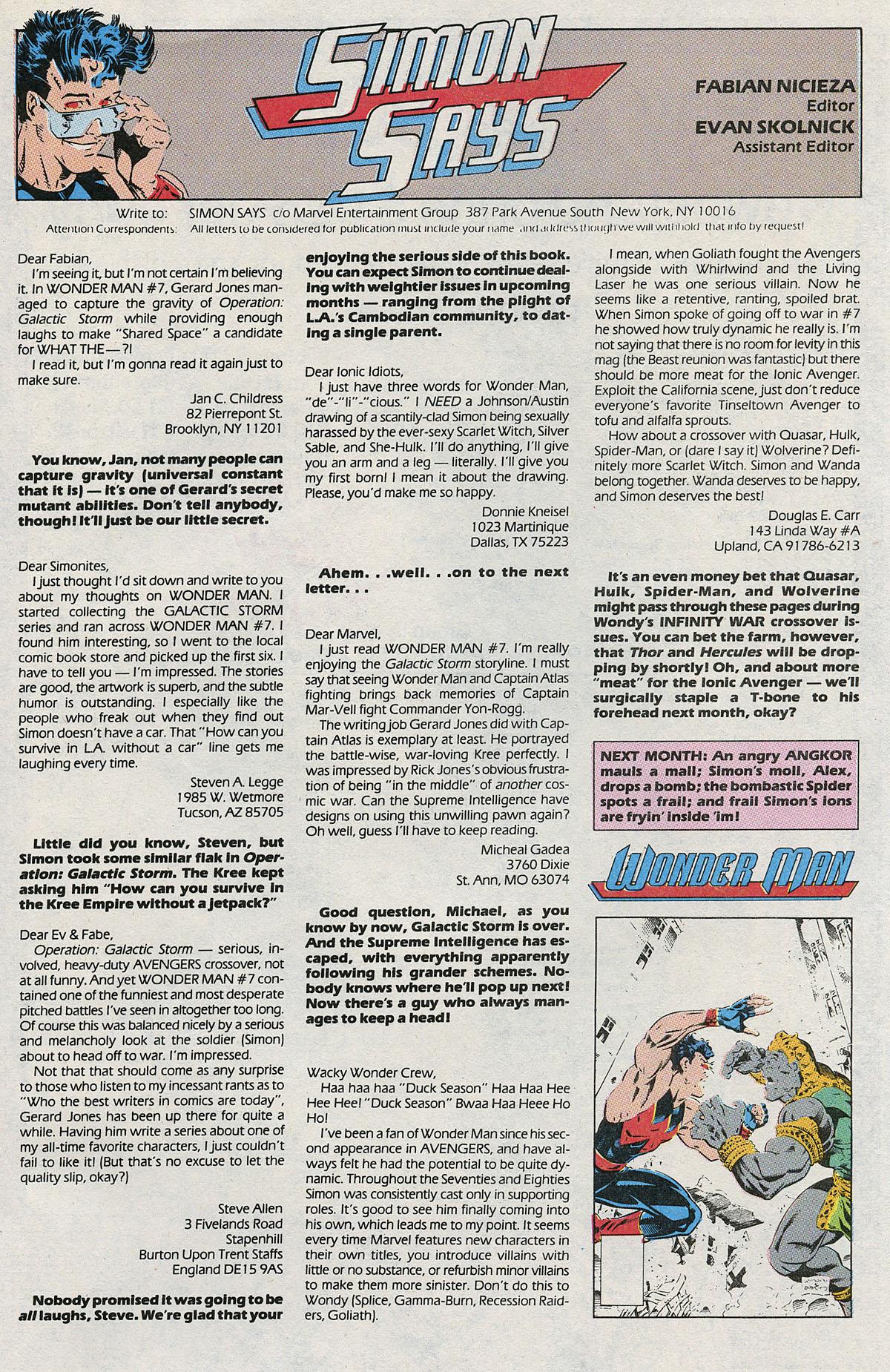 Read online Wonder Man (1991) comic -  Issue #10 - 24