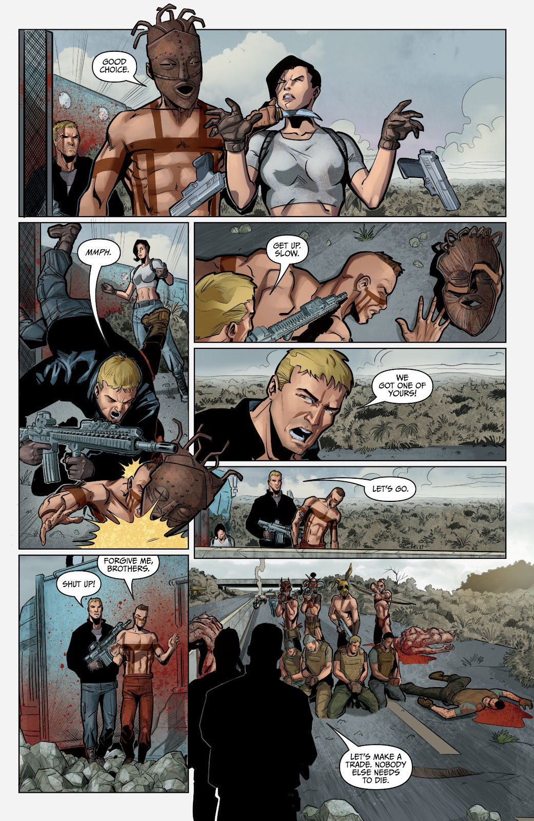 The Courier: Liberty & Death issue 2 - Page 6