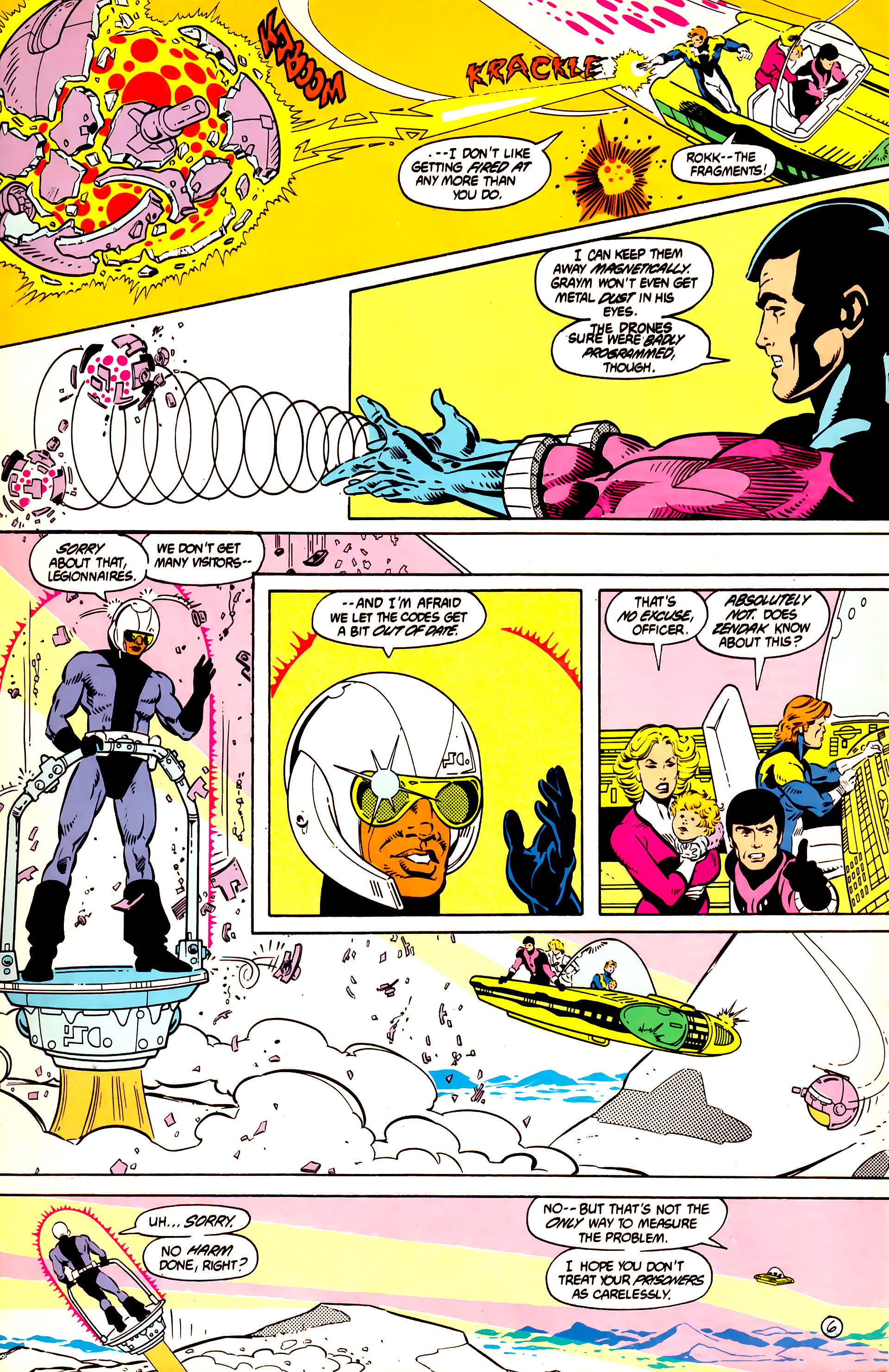 Legion of Super-Heroes (1984) 11 Page 7