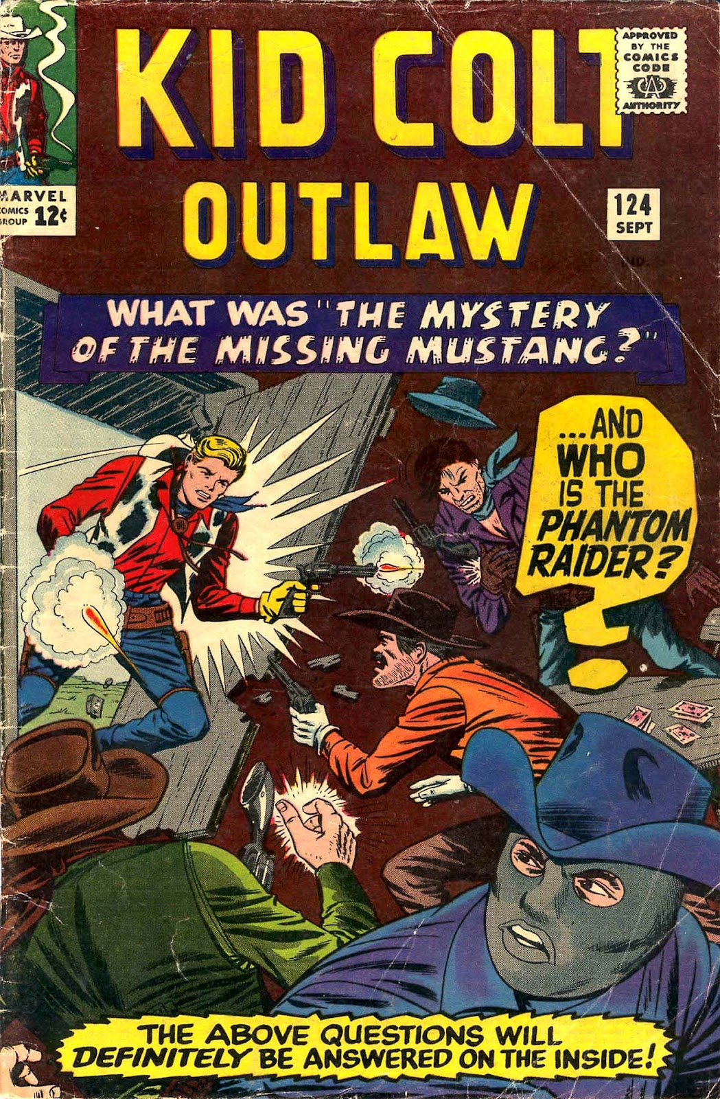 Kid Colt Outlaw issue 124 - Page 1