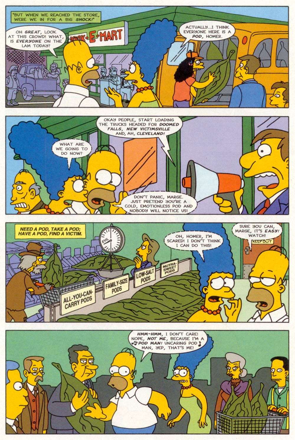 Read online Treehouse of Horror comic -  Issue #3 - 17