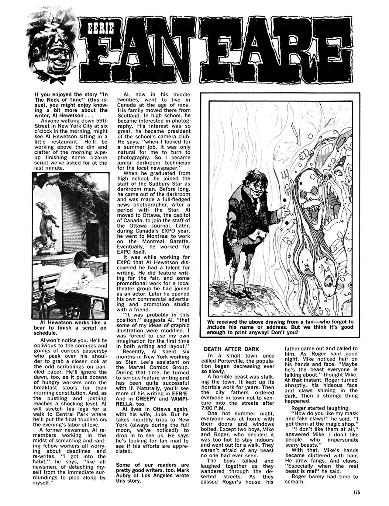 Read online Eerie Archives comic -  Issue # TPB 5 - 176
