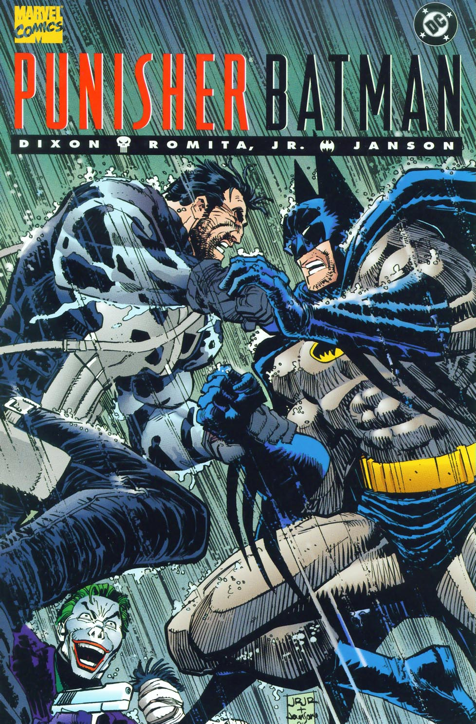 Read online Punisher/Batman: Deadly Knights comic -  Issue # Full - 1