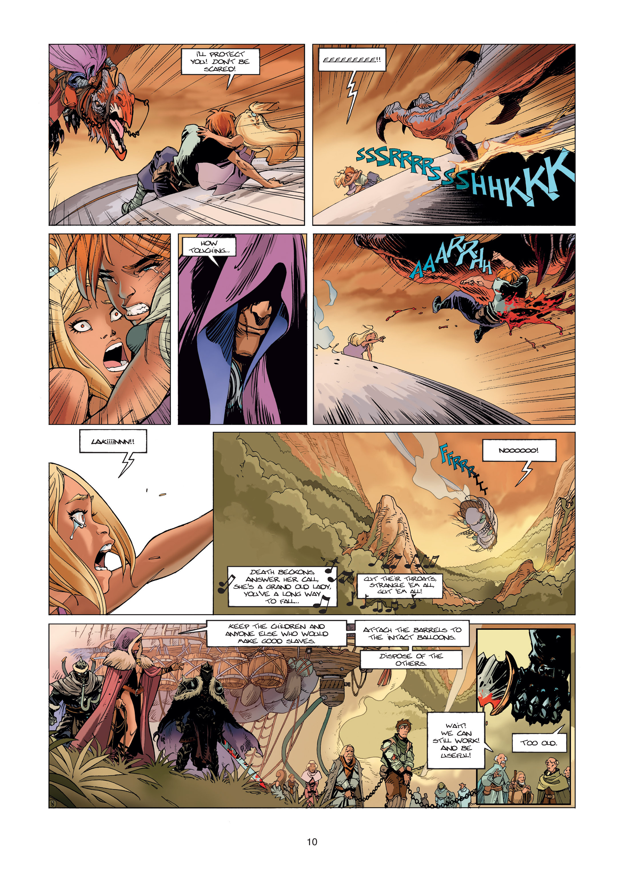 Read online Sangre Vol. 1: Sangre the Survivor comic -  Issue # Full - 10