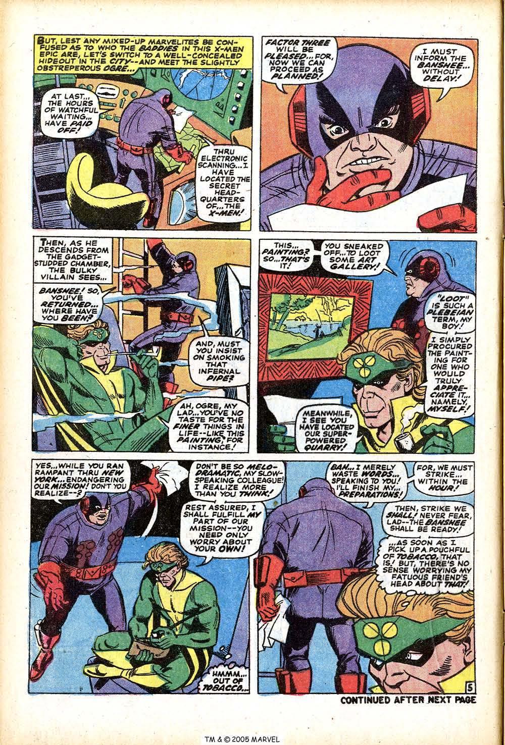 Uncanny X-Men (1963) 76 Page 7