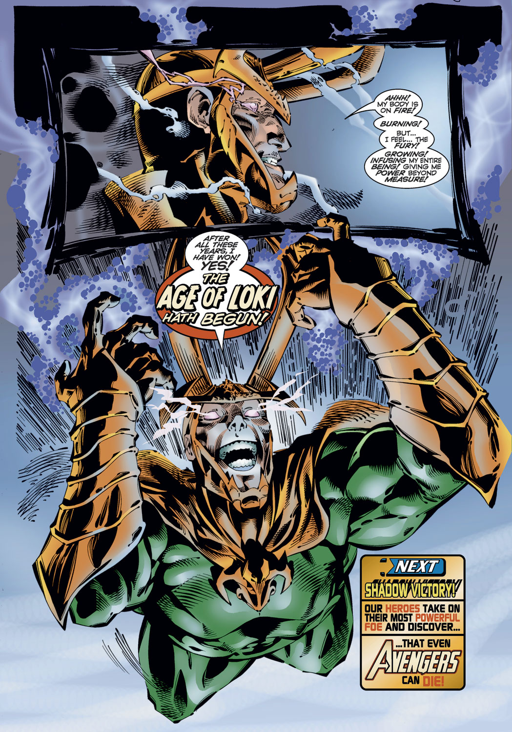 Read online Avengers (1996) comic -  Issue #10 - 21
