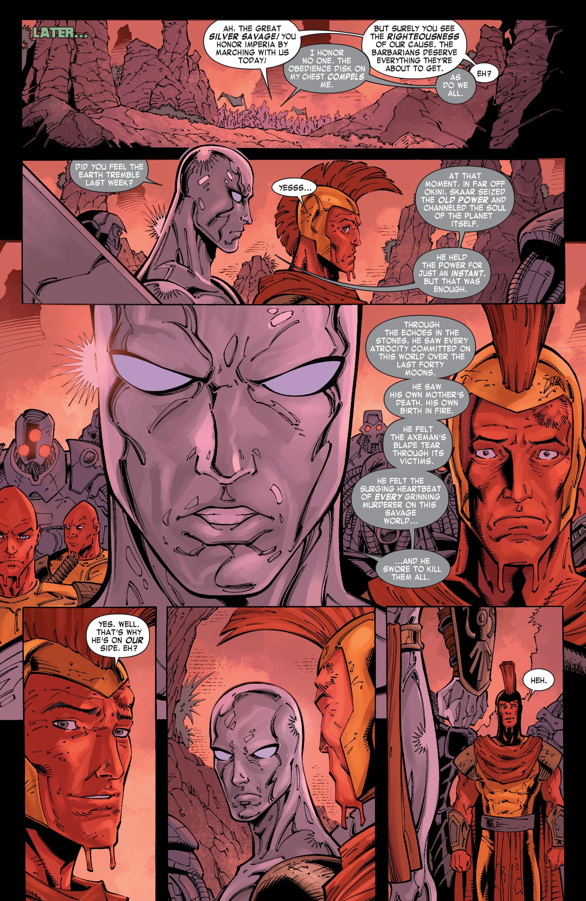 Read online Skaar: Son of Hulk comic -  Issue #8 - 9