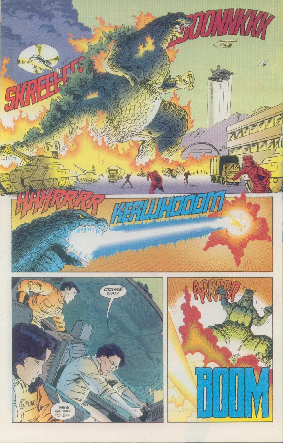 Godzilla (1995) Issue #2 #3 - English 21