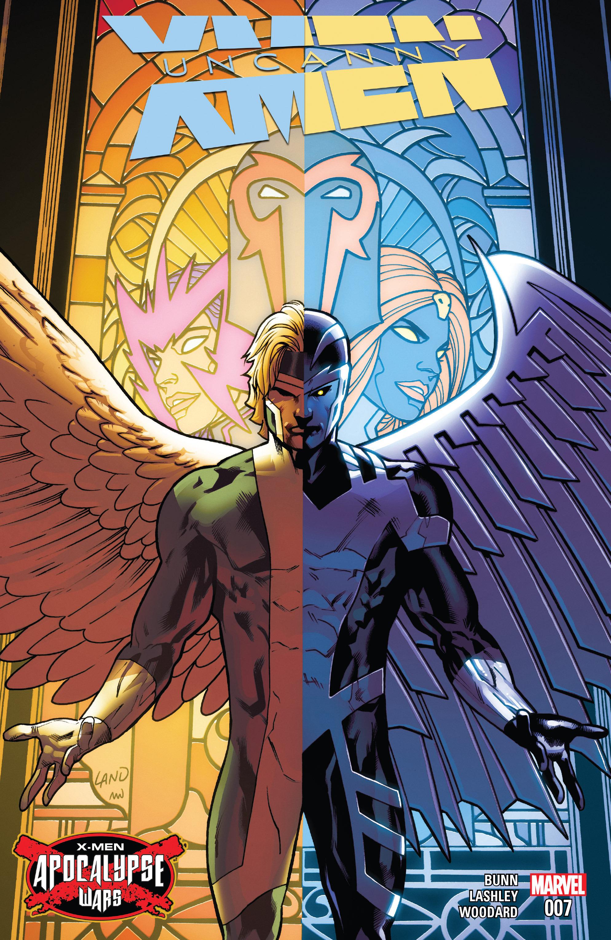 Read online Uncanny X-Men (2016) comic -  Issue #7 - 1