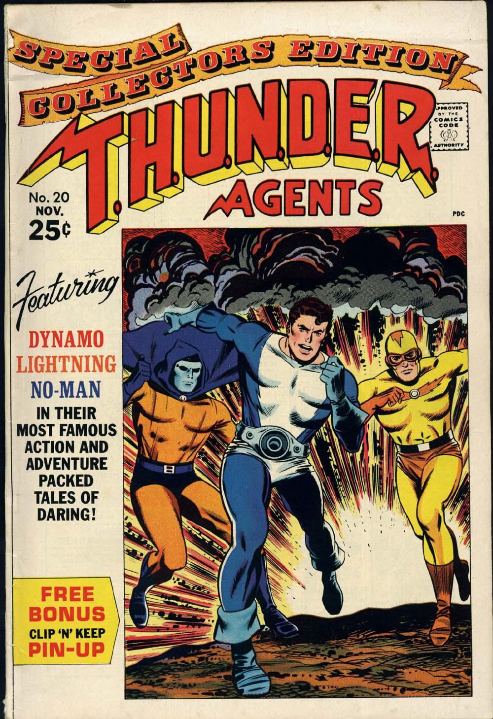 T.H.U.N.D.E.R. Agents (1965) 20 Page 1