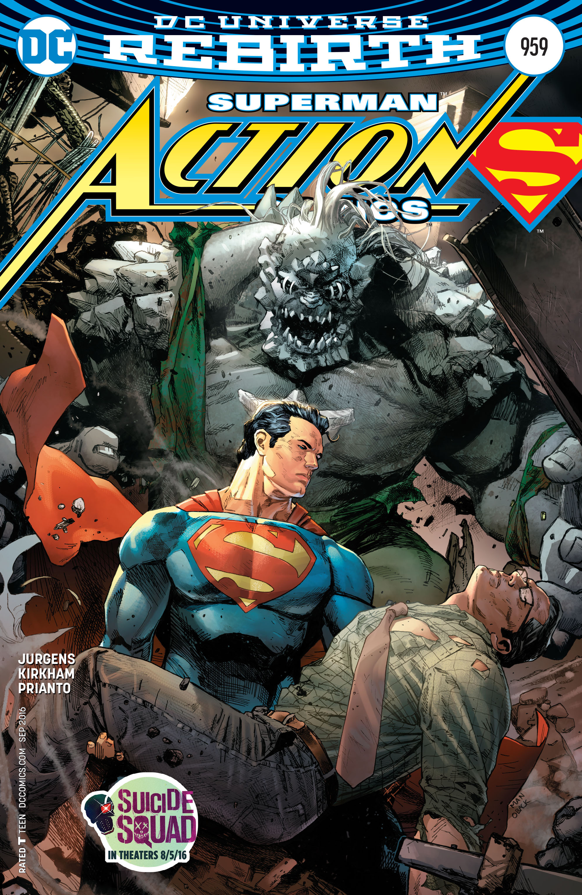 Read online Action Comics (2016) comic -  Issue #959 - 1