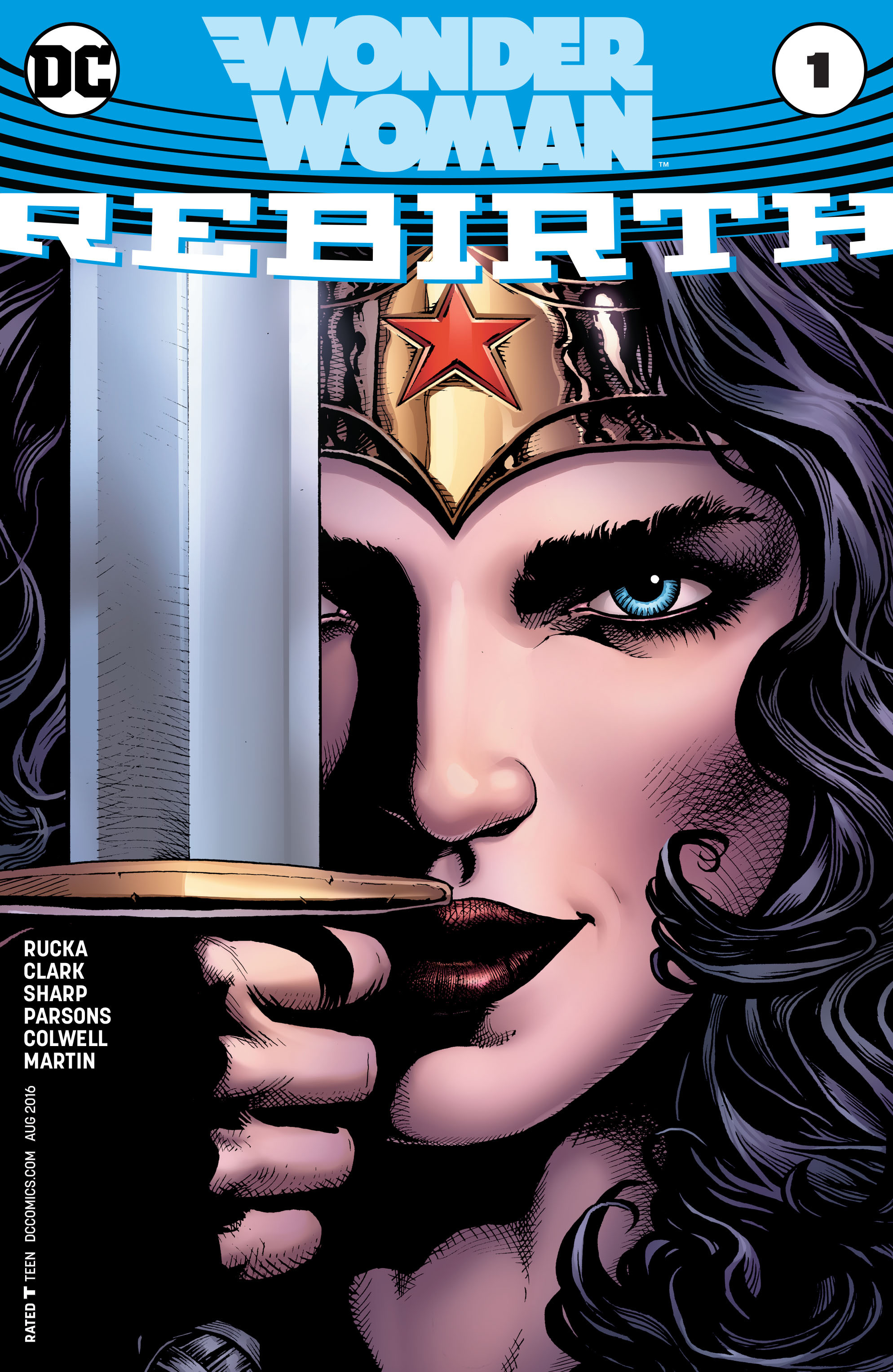 Read online Wonder Woman: Rebirth comic -  Issue # Full - 1