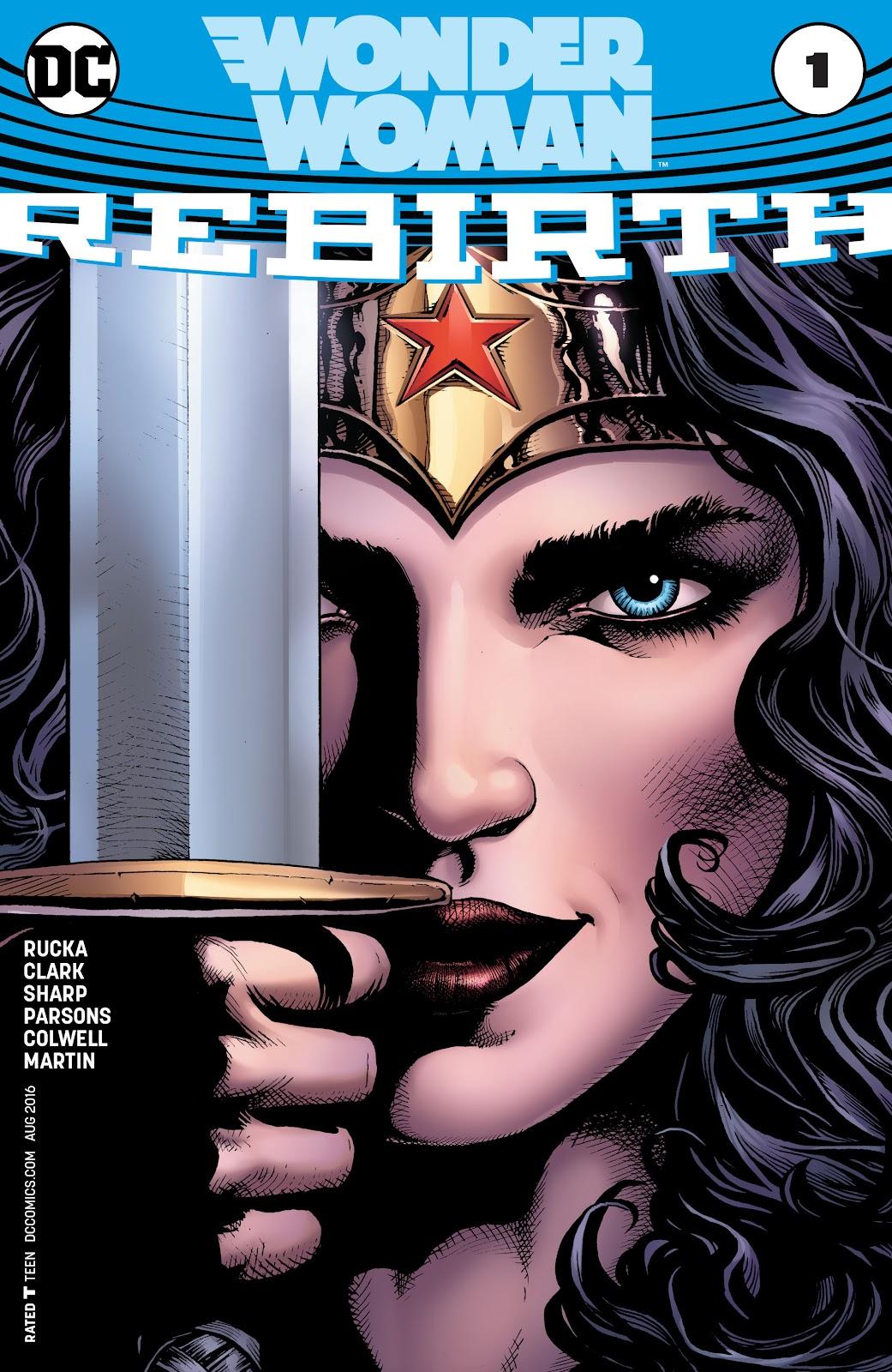 Wonder Woman: Rebirth Full Page 1