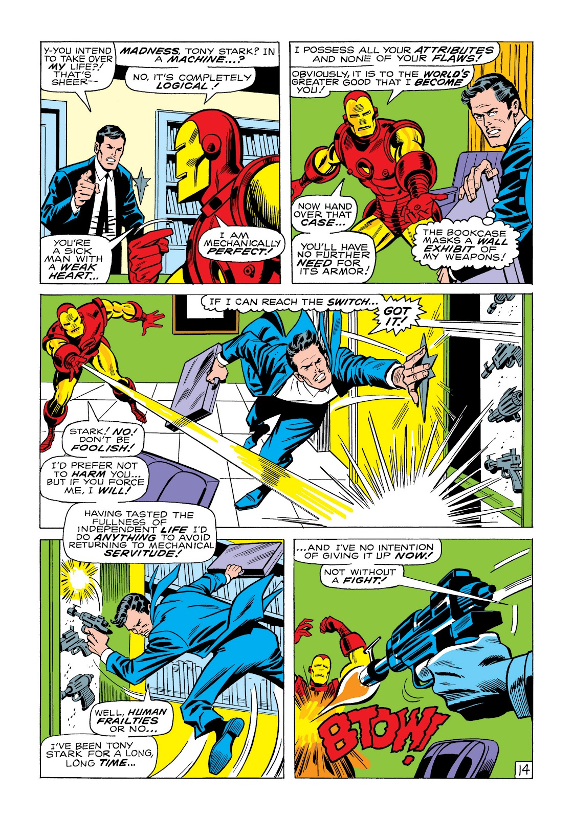 Read online Marvel Masterworks: The Invincible Iron Man comic -  Issue # TPB 6 (Part 1) - 83