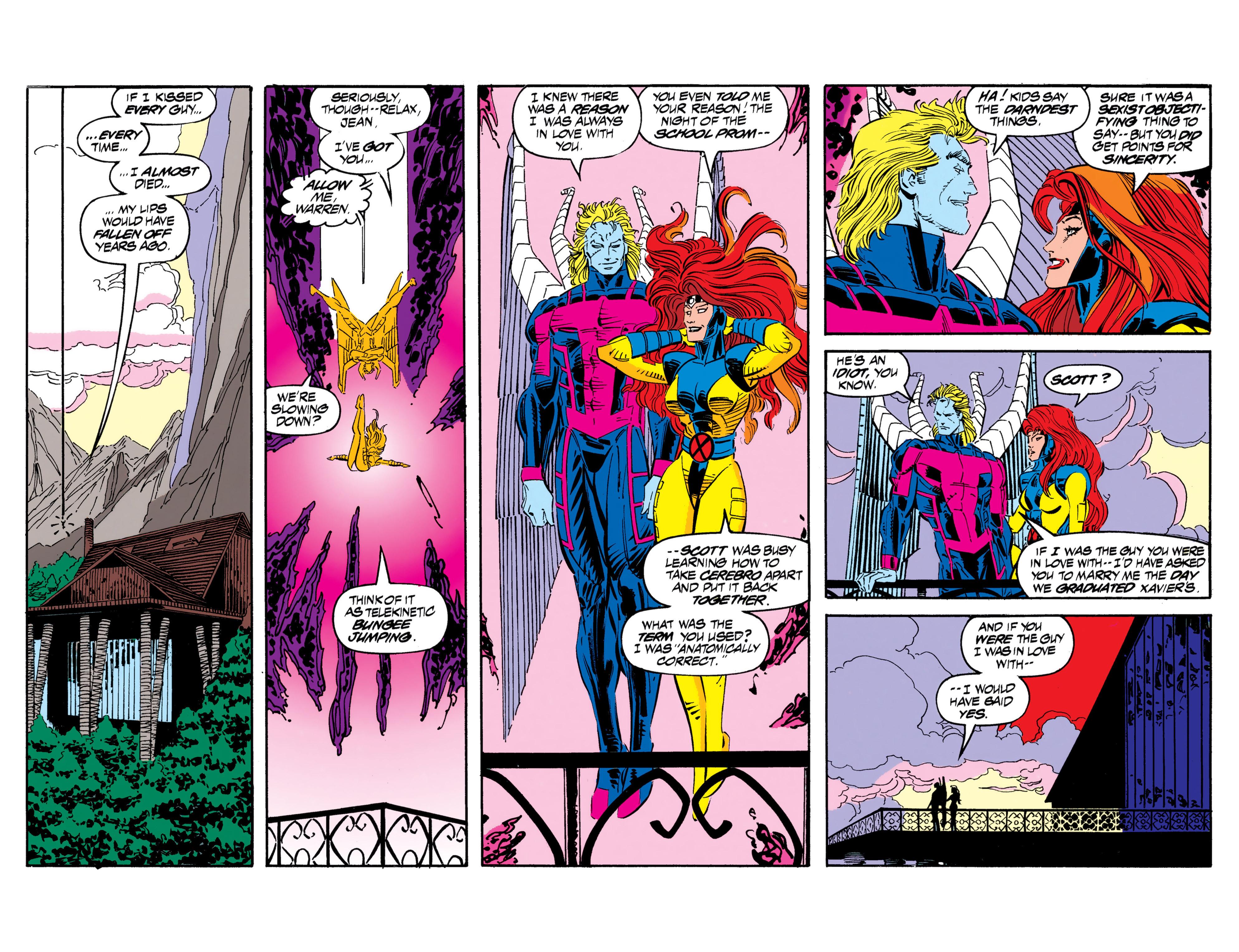 Read online Uncanny X-Men (1963) comic -  Issue #306 - 4