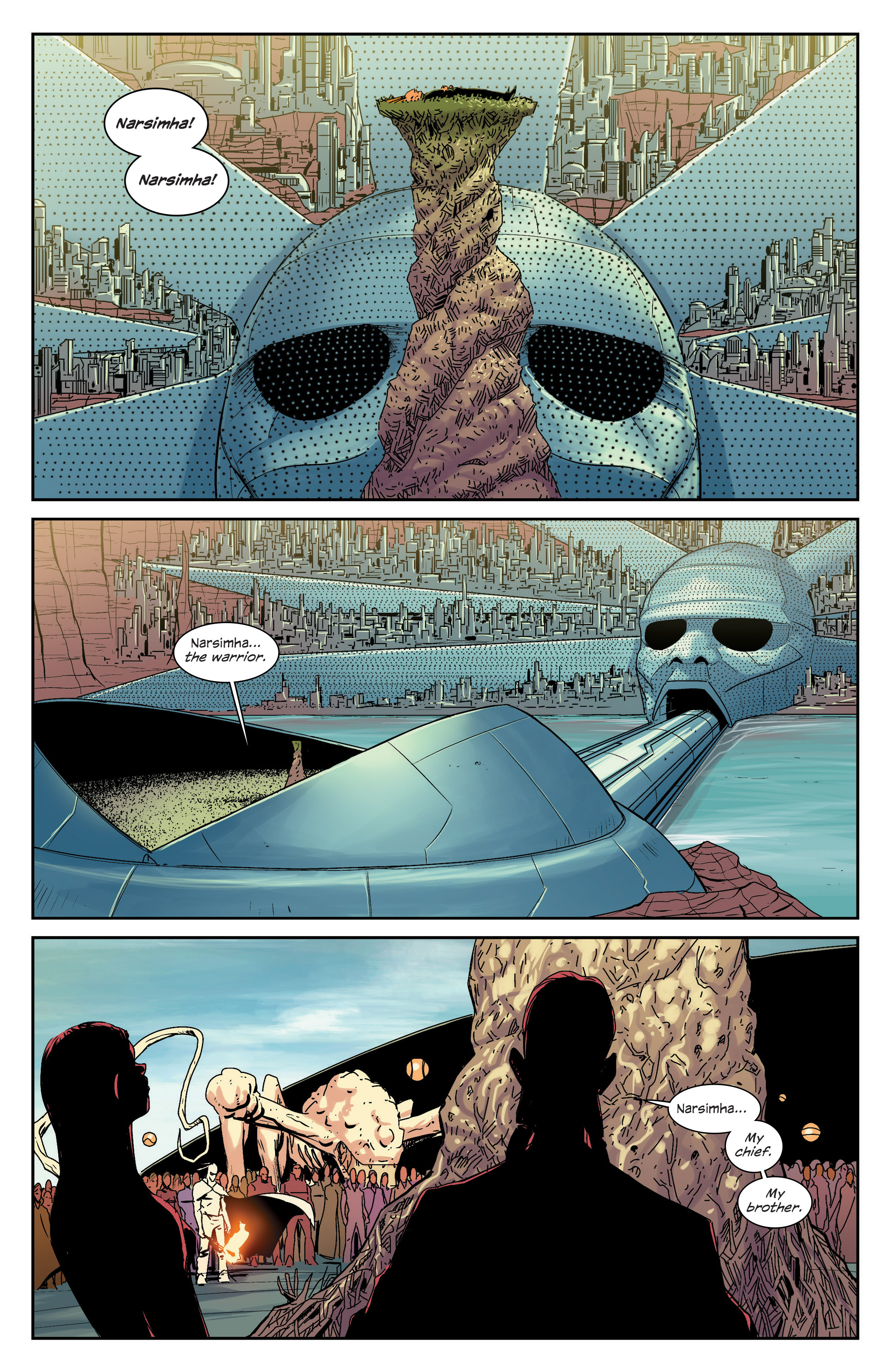 Read online East Of West comic -  Issue #33 - 4