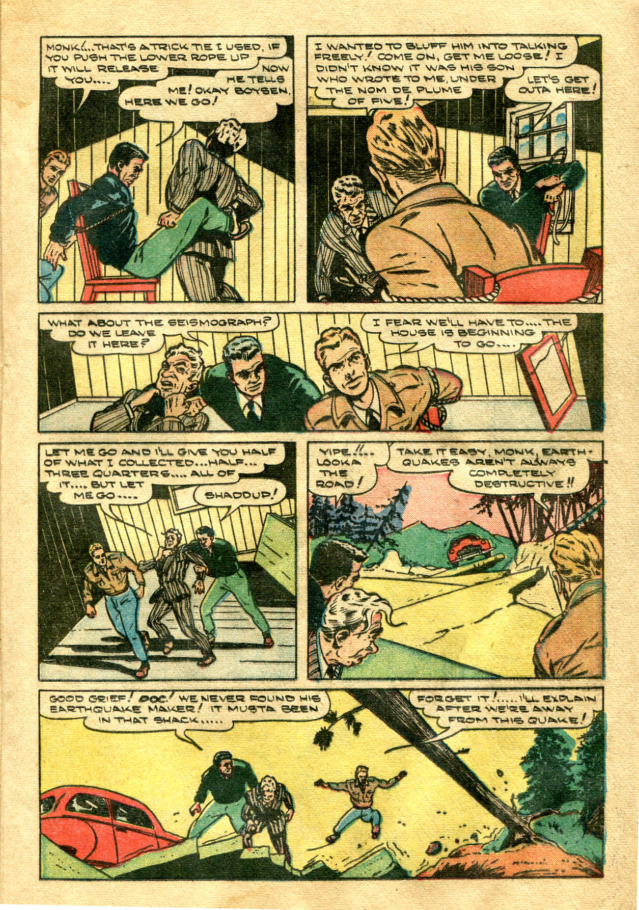 Read online Shadow Comics comic -  Issue #99 - 27