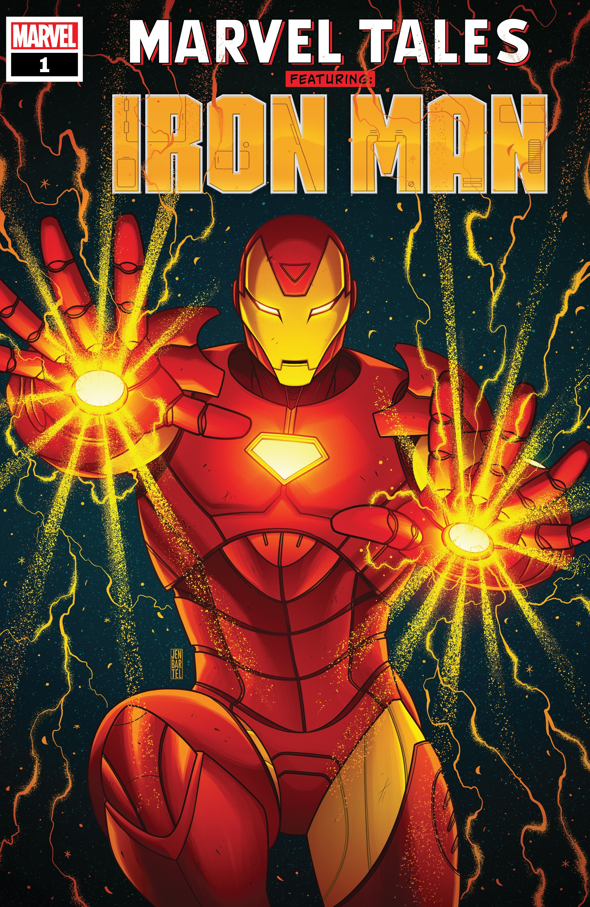 Marvel Tales: Iron Man Full Page 1