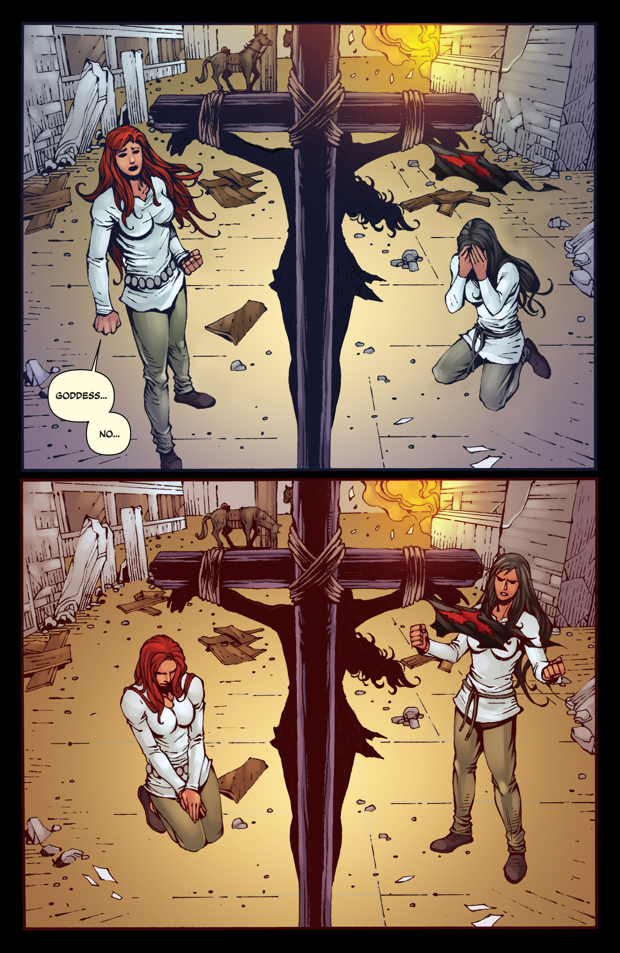 Read online Red Sonja: Sanctuary comic -  Issue # Full - 19