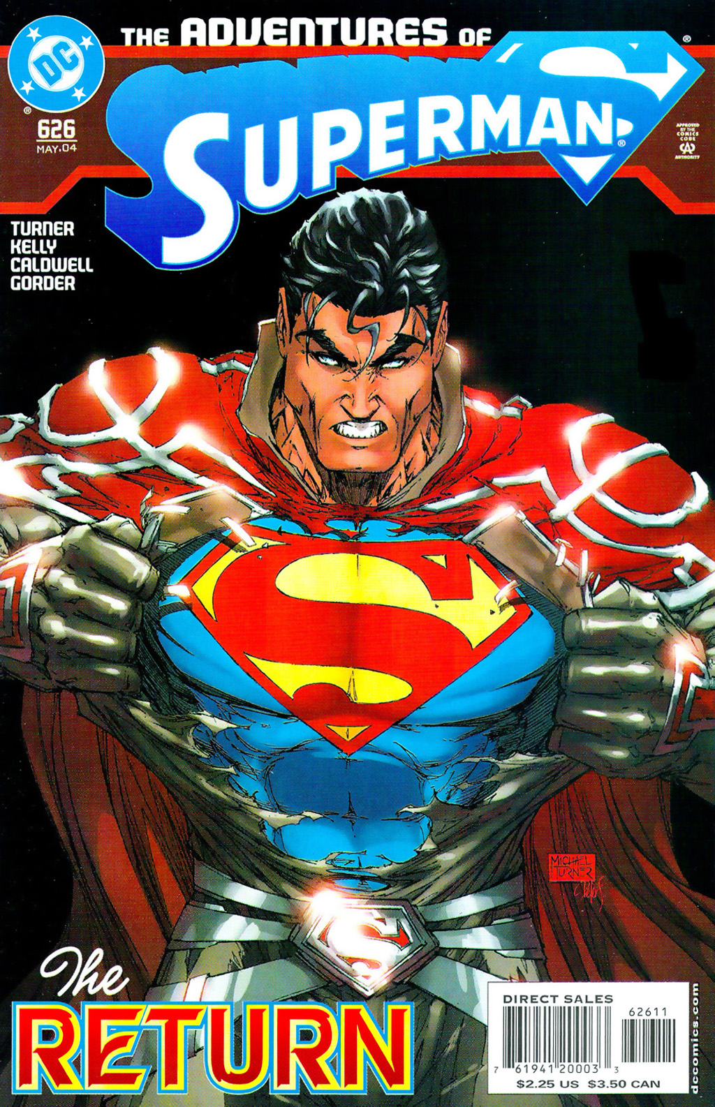 Read online Adventures of Superman (1987) comic -  Issue #626 - 1