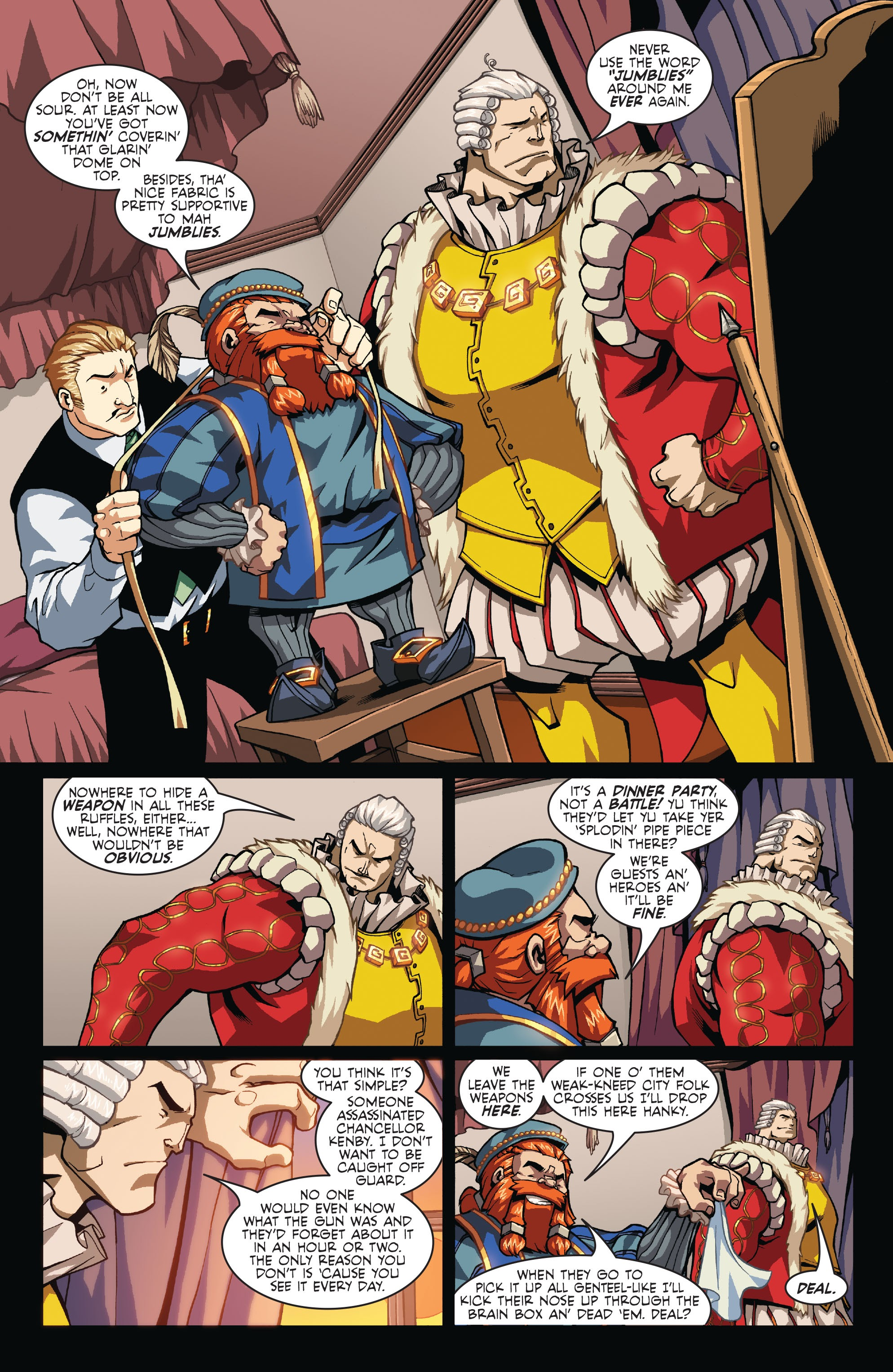 Read online Skullkickers comic -  Issue #7 - 10