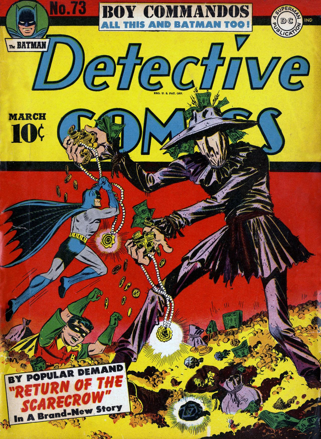 Detective Comics (1937) 73 Page 0