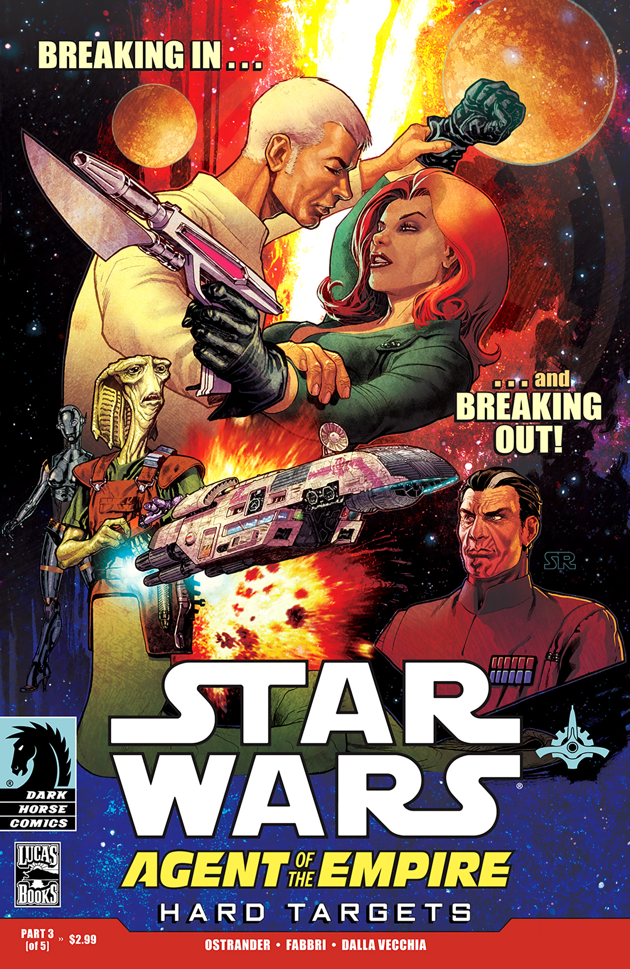 Read online Star Wars: Agent Of The Empire - Hard Targets comic -  Issue #3 - 1