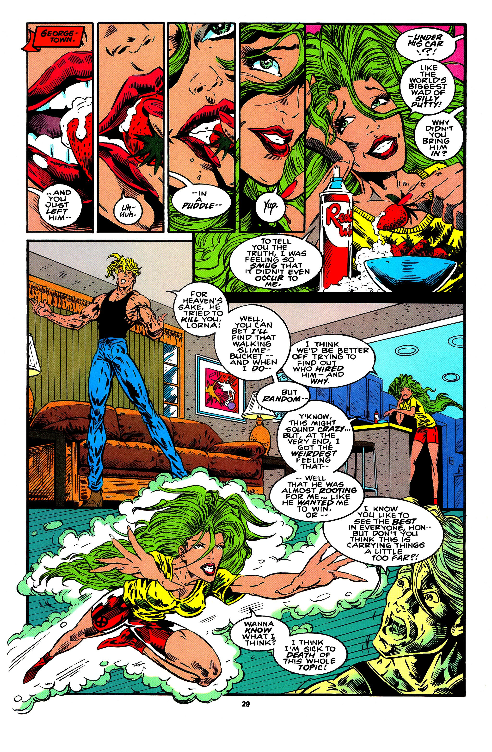 Read online X-Factor (1986) comic -  Issue #95 - 19