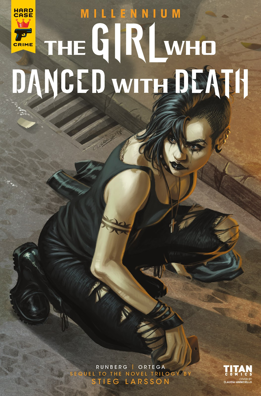 Read online Millennium: The Girl Who Danced With Death comic -  Issue #2 - 1