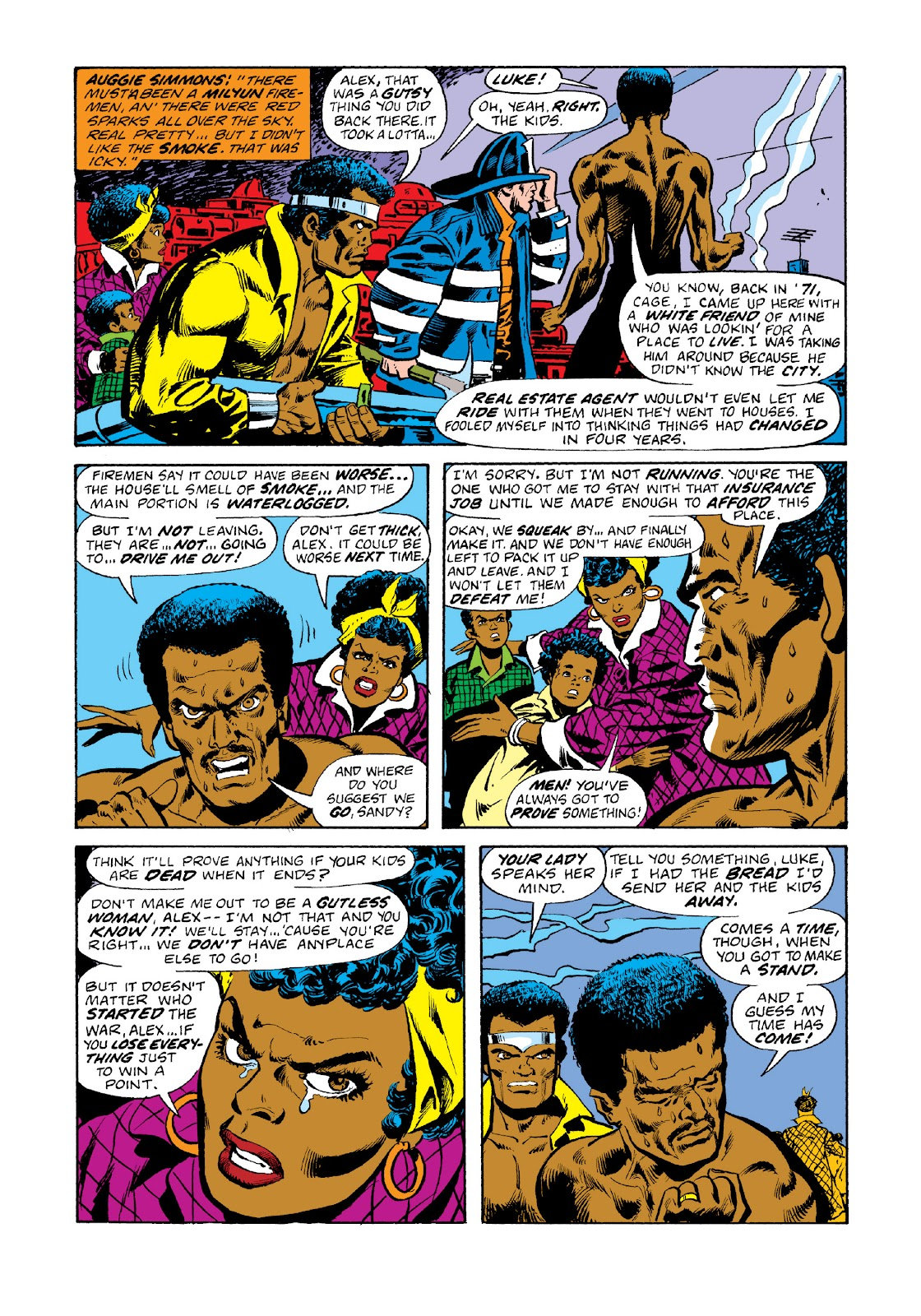 Read online Marvel Masterworks: Luke Cage, Power Man comic -  Issue # TPB 3 (Part 1) - 18