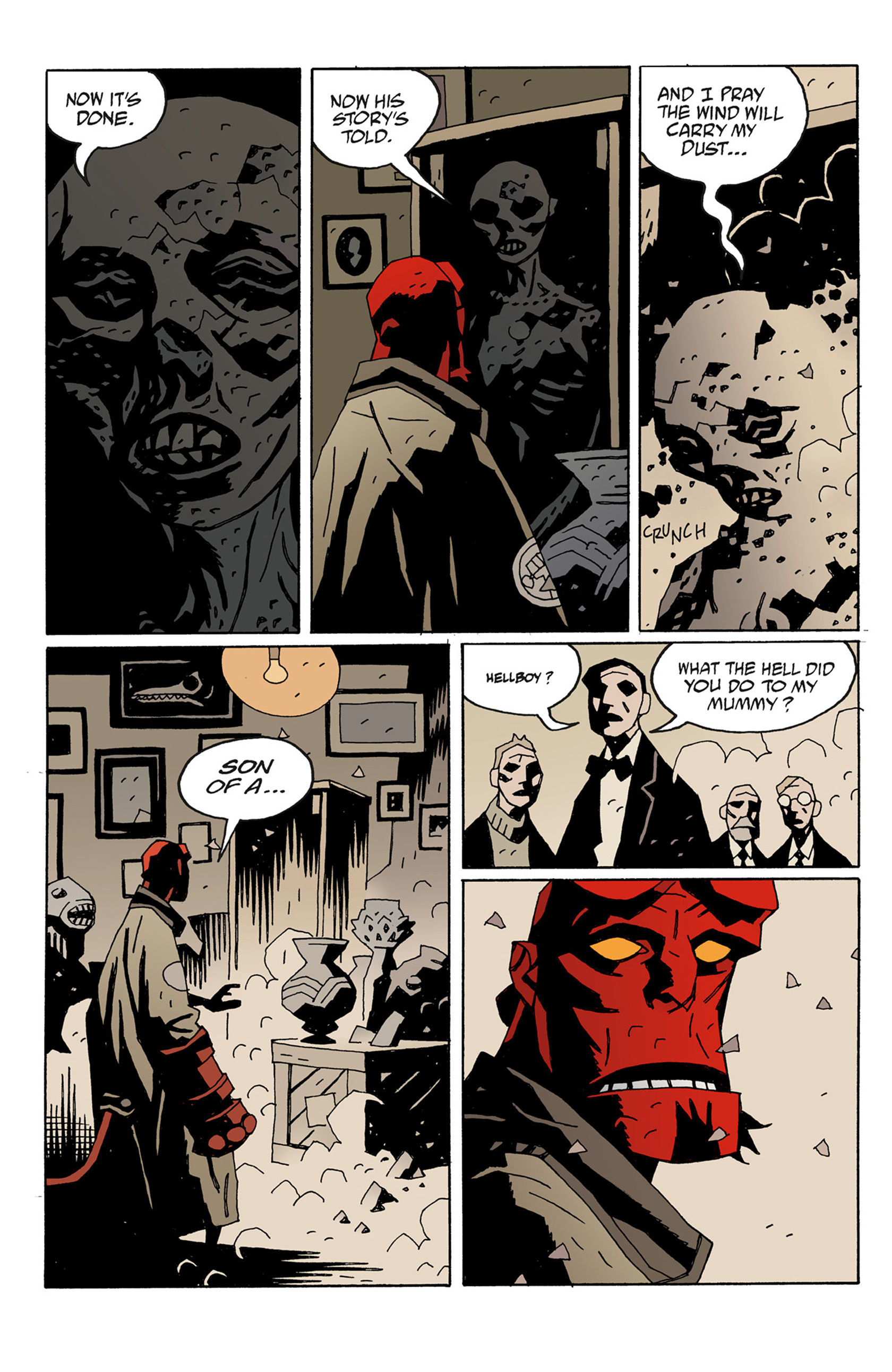 Read online Hellboy: The Troll Witch and Others comic -  Issue # TPB - 130