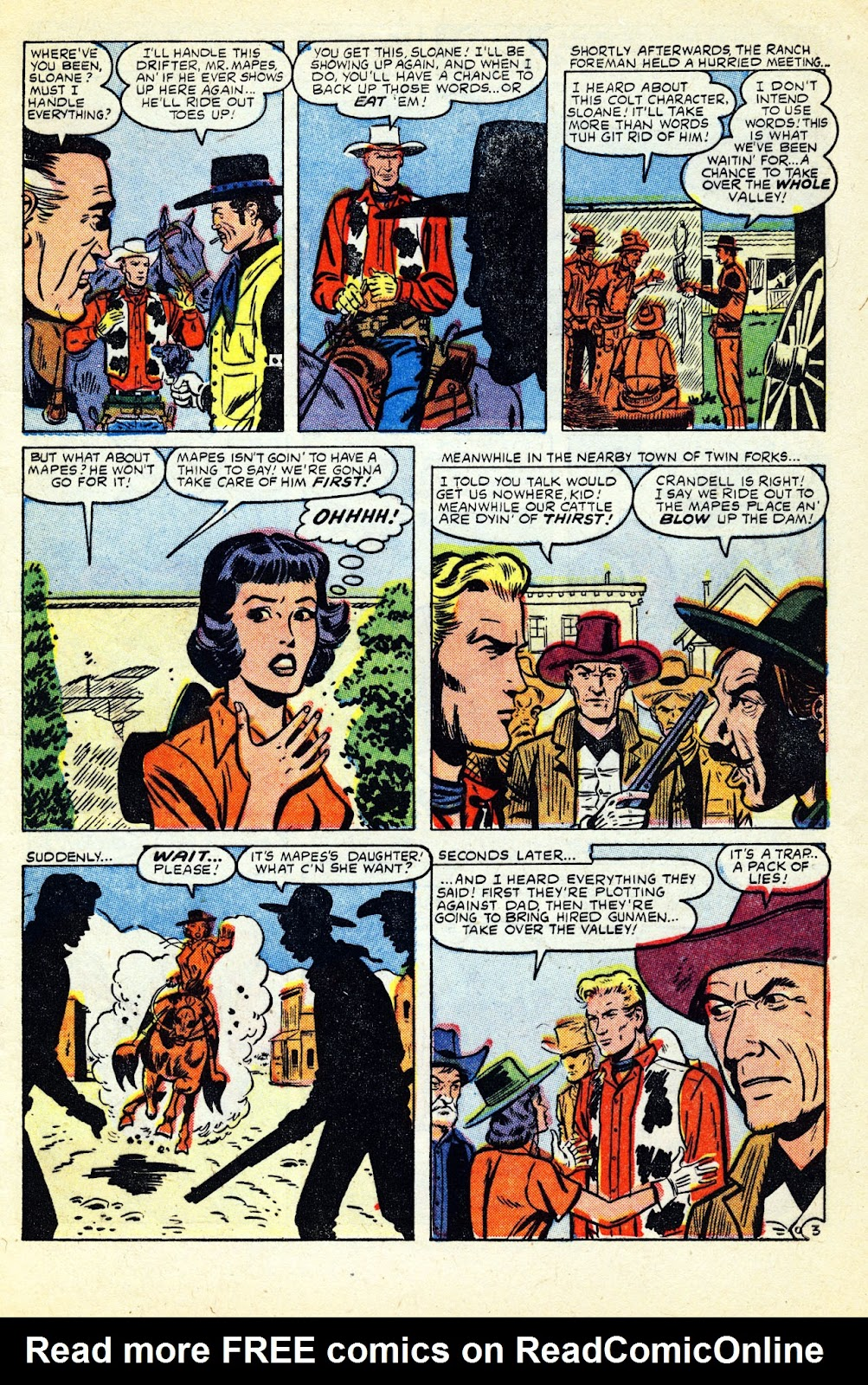 Gunsmoke Western issue 32 - Page 5