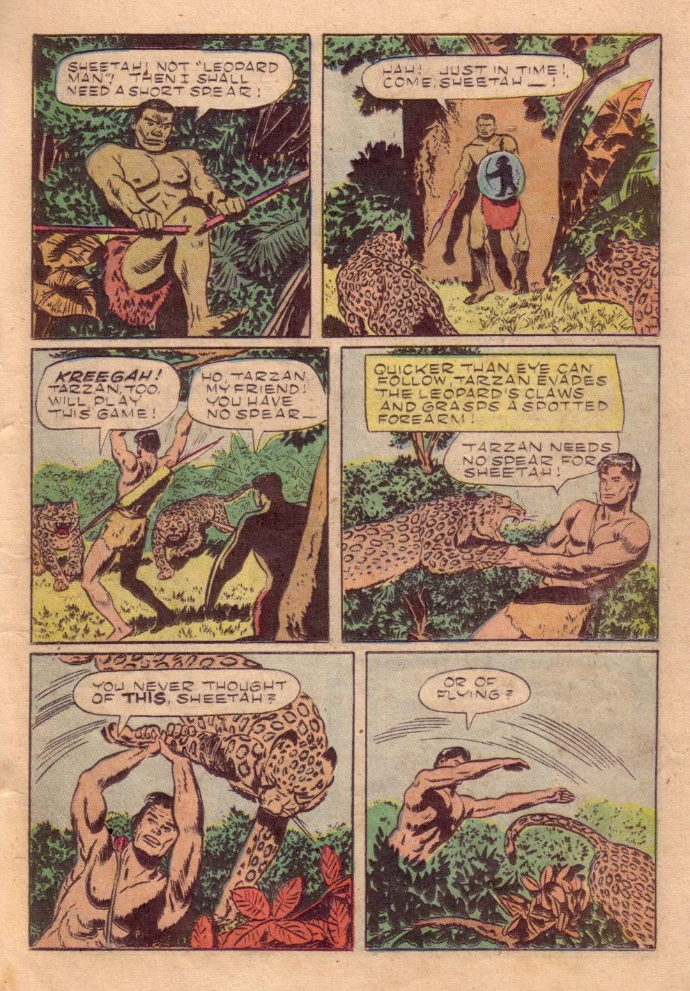 Tarzan (1948) issue 40 - Page 31
