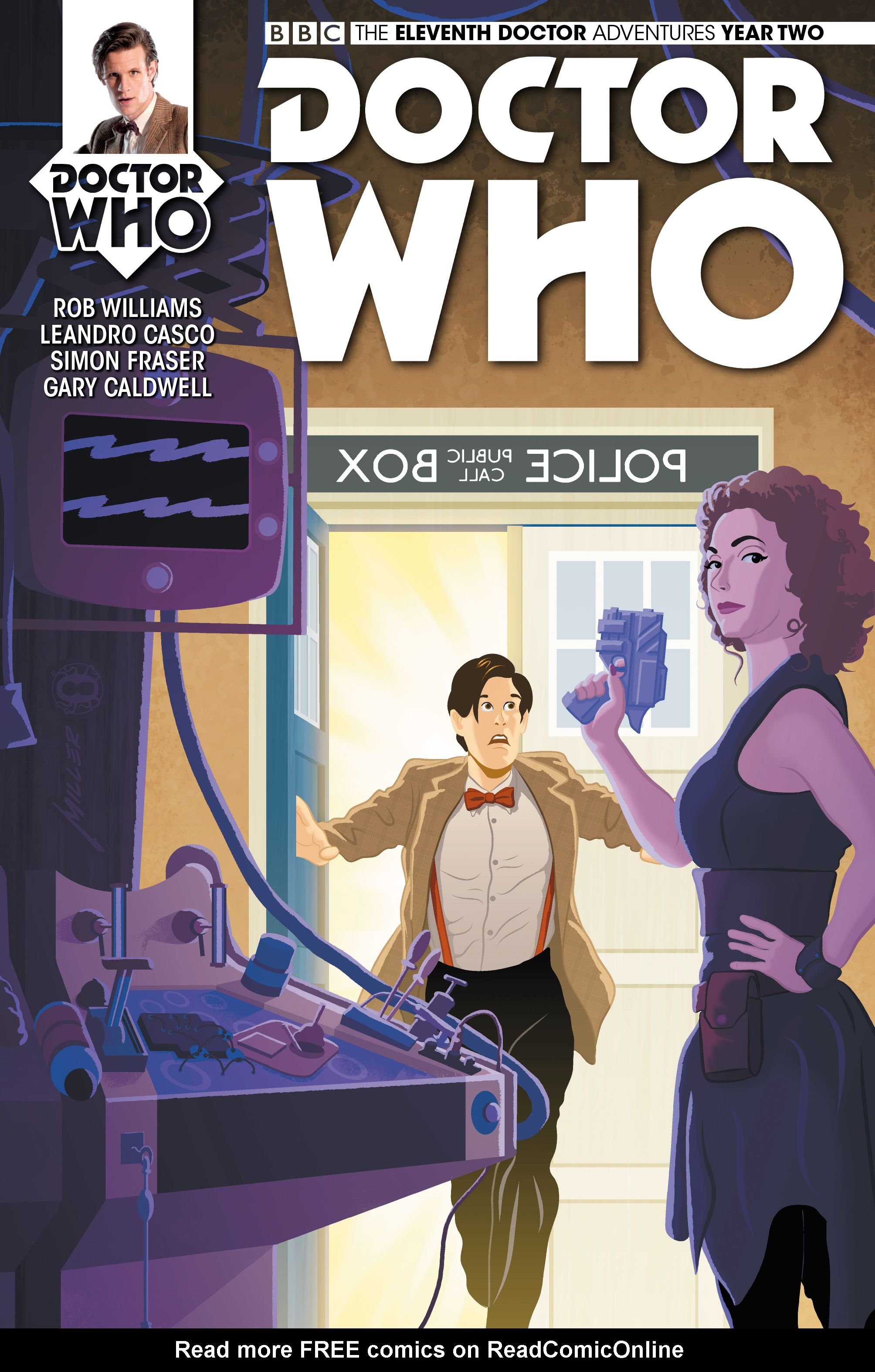 Doctor Who: The Eleventh Doctor Year Two 7 Page 1