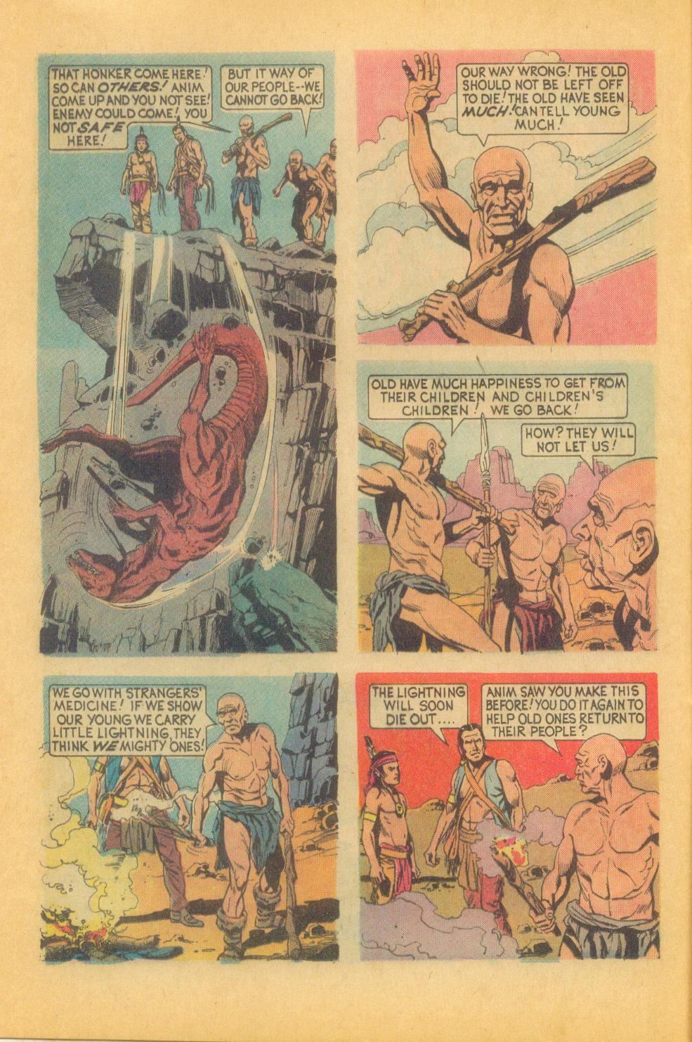 Read online Turok, Son of Stone comic -  Issue #87 - 12