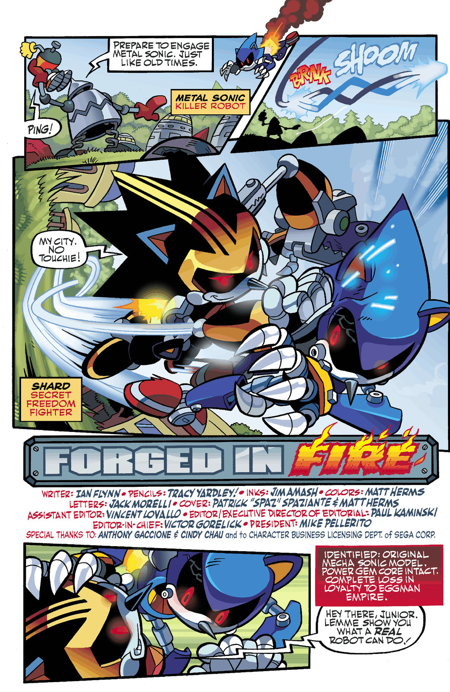 Read online Sonic Universe comic -  Issue #50 - 4