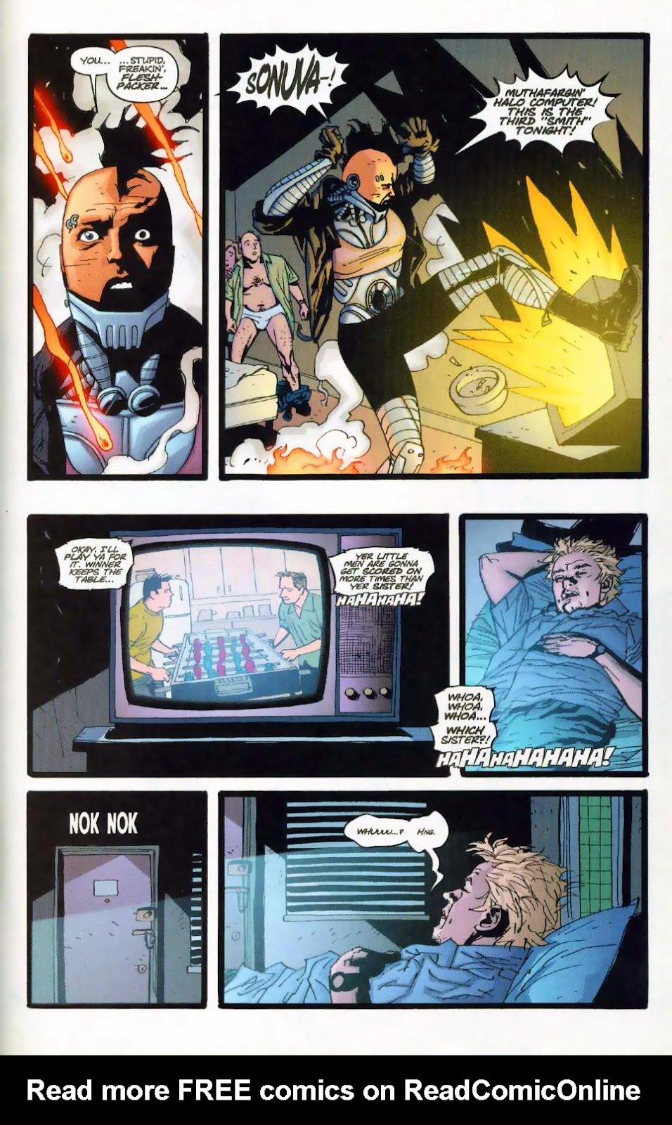 Wildcats (1999) Issue #18 #19 - English 15