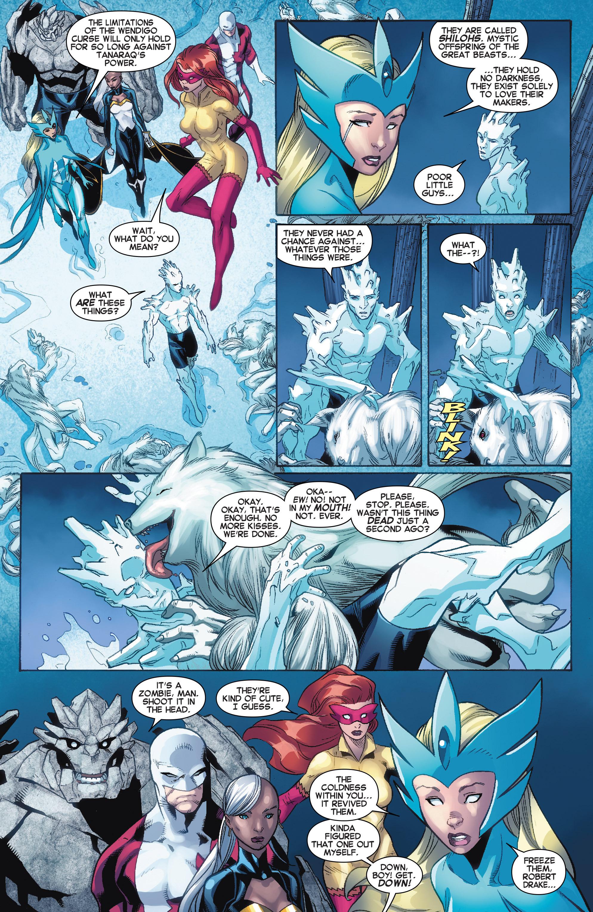 Read online Amazing X-Men (2014) comic -  Issue #11 - 11