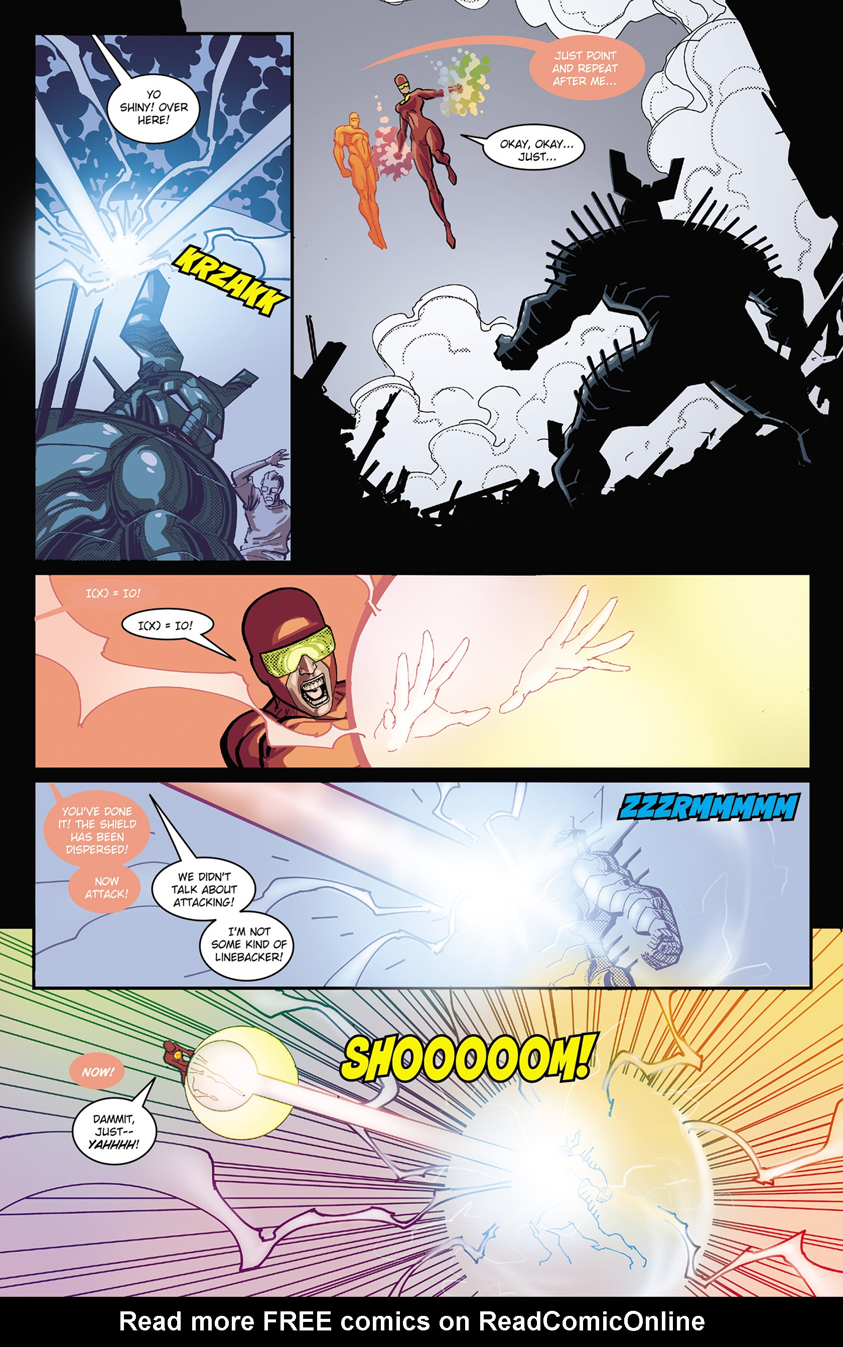 Read online Solar: Man of the Atom (2014) comic -  Issue #3 - 20