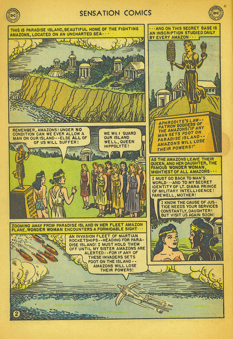 Read online Sensation (Mystery) Comics comic -  Issue #104 - 4