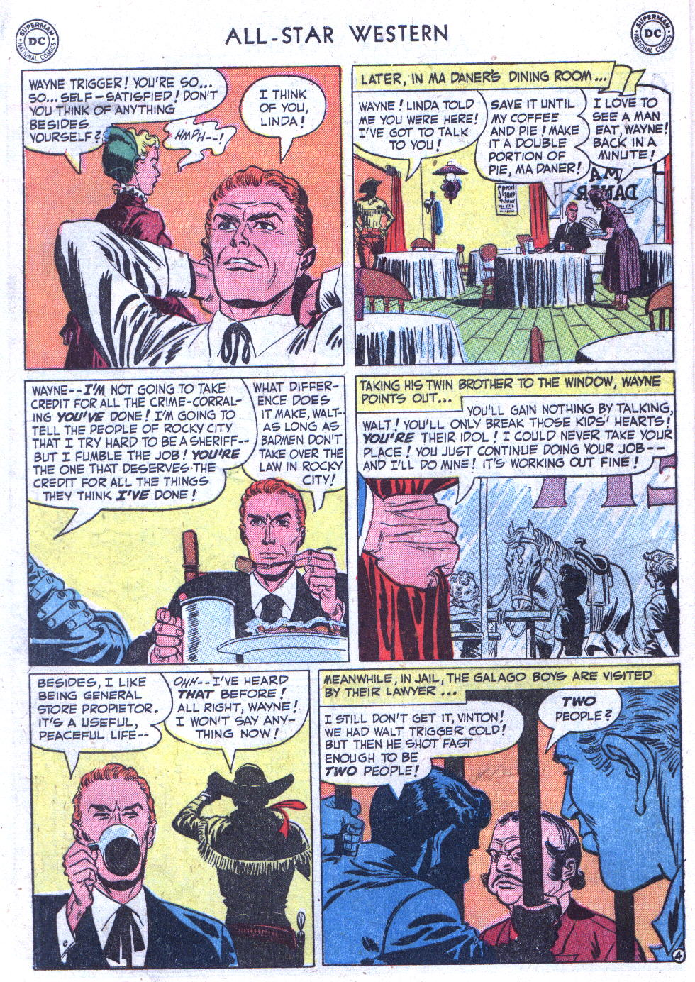 Read online All-Star Western (1951) comic -  Issue #59 - 6